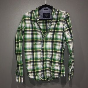 American Eagle Button Down Shirt Size XS